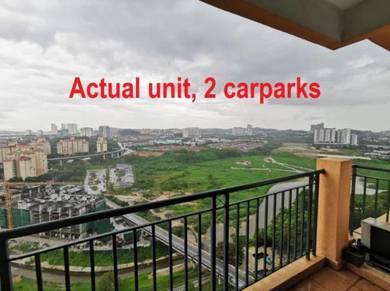 OUG Parklane 2 Carpark Near LRT Muhibbah Jln Puchong Jln Klang Lama