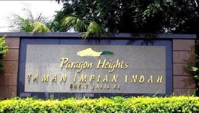 Paragon Heights Bukit Jalil (3 Storey )(End Lot)(Renovated)