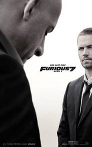 Poster FAST N FURIOUS 7