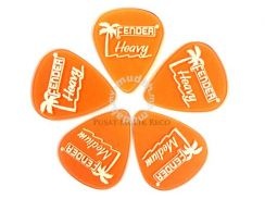 New Fender California Clear Guitar Picks