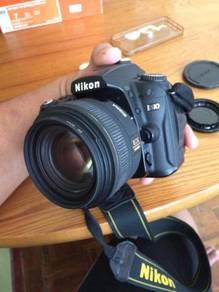 Sigma ex 30mm f1.4 nikon f mount