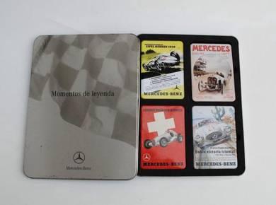 Legendary Moments Mercedes Benz Fridge Magnet