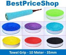 BPS Pirlox Towel Grip 10m Roll Badminton Racket