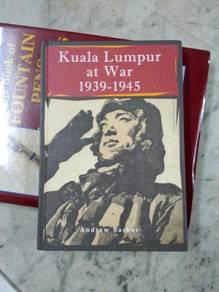 TExp Kuala Lumpur At War 1939-1945 Book