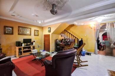 RENOVATED CORNER LOT 2 Storey Terrace House Taman Len Sen Cheras