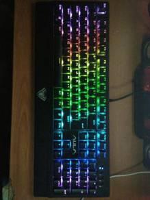 Keyboard Aula Wings Of Liberty (RGB,Blue Switch)