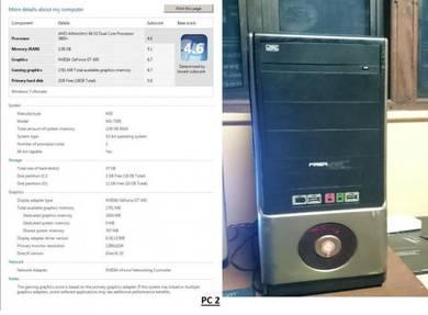 DESKTOP/PC AMD ATHLON used