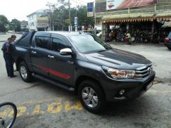 Toyota Hilux for rent