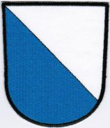 Canton of Zurich Coat of Arms Switzerland Patch