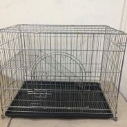 A & K Cat Cage 355 ( Silver Hammeton )
