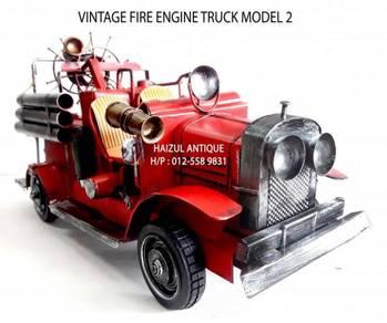 Vintage Fire Engine Truck 2