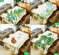 Waterproof Oil Resistant Dining Table Cloth Cover