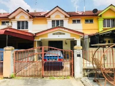 Double Storey, Taman Sri Saujana, Ulu Tiram, kota tinggi, Johor