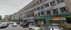 Rawang 4 storey shop fully tenanted facing main road same roll pbb