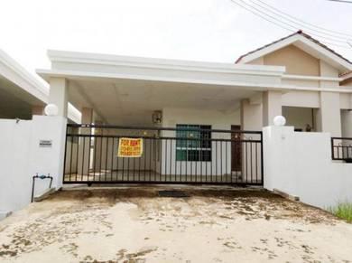 Single Storey Semi Detached Senadin House at Senadin For Rent