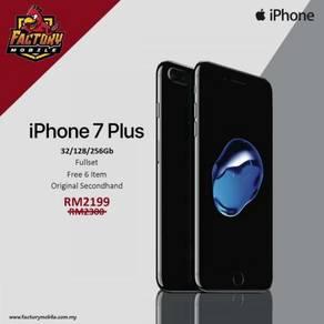 Apple Iphone 7 plus 128GB Ori tiptop Condition