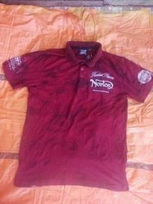 Norton England Established 1898 Polo T-Shirt