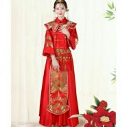 China Tassels Wedding Cheongsam 2018