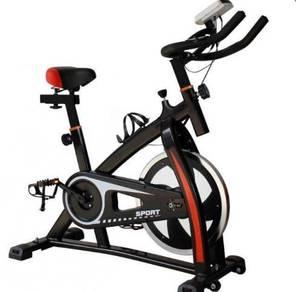 Muscle Power Air Bike (White Colour)