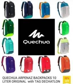 Original QUECHUA Bagpacks with Tag Dechatlon