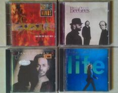 Dy CD Simply Red James Ingram Bee Gees SimpleMinds