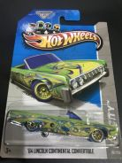 Hot Wheels �64 LINCOLN CONTINENTAL CONVERTIBLE TH