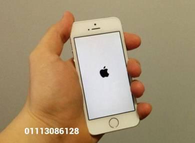 Iphone 5s 64gb rom dalaman fullset seconhan