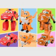 Transformation Car Series Robot Toy 3 Designs