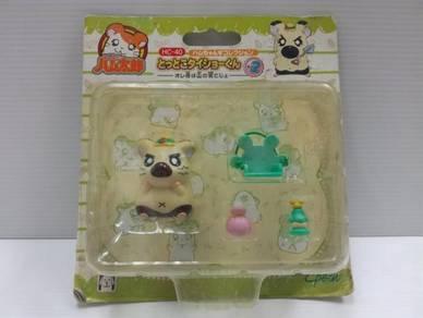 2002 Hamtaro Little Figures Set C