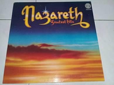 Piring Hitam LP Vinyl Nazareth - Greatest Hits
