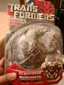 Transformers The Movie Scorponok