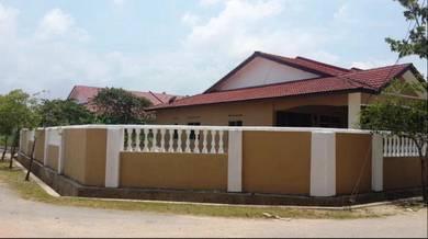 Rumah teres corner lot di Pengkalan Pandan Kemaman