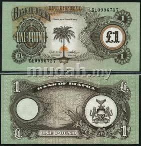 BiaFra P5 1 Pound Year ND 1968 69 Unc