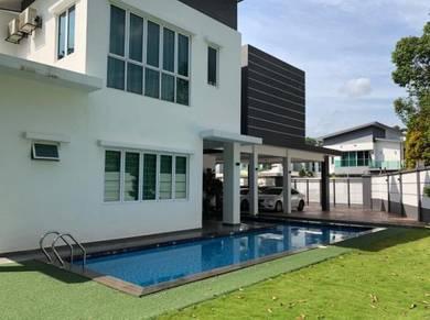 Double Storey Bungalow House, Bandar Mahkota Cheras, Mahkota Villa