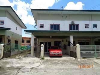 2 Storey Terrace House In Taman Bahagia, Sandakan, Sarawak