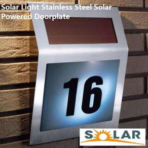 Safety Solar Door plate Outdoor