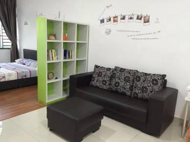Nusa Heights #E Studio Partly Furnished ( 573sqft), Nusajaya