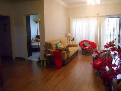 (BELOW RENTAL) Sri Mekar Apartment (FULLY) Anggerik Puchong Jaya, LRT