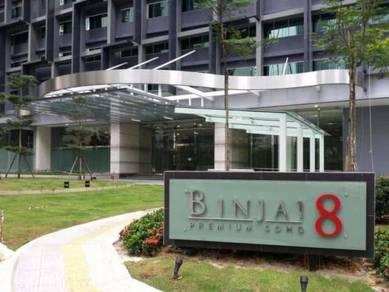 Binjai 8 Condo, 1R1B, F/F, KLCC,KL City, Jalan Ampang, Near LRT