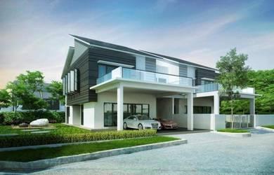 [NEW 0 DOWN PAYMENT REBATE] SEMI D Batu Berendam Town Area