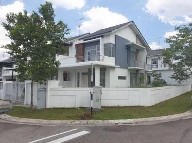 Eco village double storey corner lot || full loan property