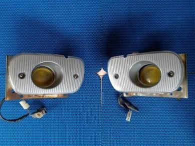 Spotlight ketam bumper Mivec CA4A Satria kuning