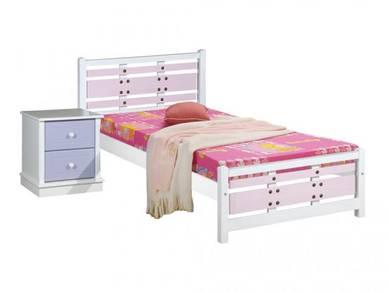 Katil kayu bed bedframe perabot 401