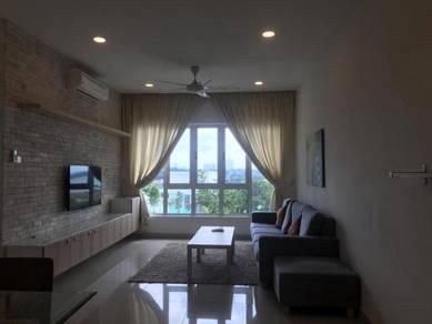 Tropez danga bay 2 bedder fully furnished low deposit johor bahru