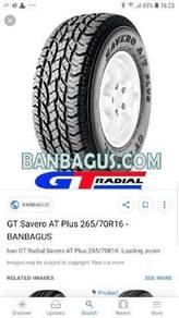 GT Radial 265/70R16 ATP for sale