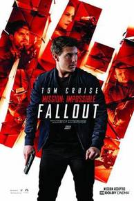 Fallout misson impossible poster