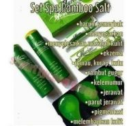 Spa bamboo salt