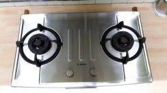 Bosch Stainless Steel Gas Hob