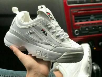 Fila distruptor v2 all white