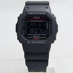 Casio g shock dw-5600hr-1er black & red limited mo